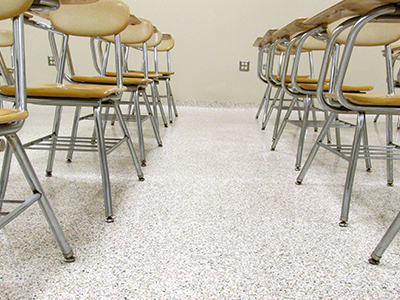 Invision-Comcorco-epoxy-flake-flooring-school-classroom