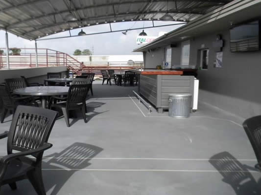 Invision-Comcorco-epoxy-slurry-flooring-outdoor-restaurant